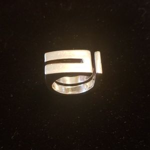 Styling Contemporary Style Silver Ring